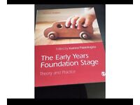 BRAND NEW - NEVER USED - Early Years Foundation Stage