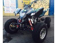 2013 QUADZILLA 500 XLC ROAD LEGAL QUAD BIKE MAPPED BIG SPEC YAMAHA RAPTOR SUZUKI POLARIS KTM BANSHEE
