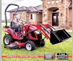 2018 Mahindra eMax 20S HST - Worlds #1 Selling Tractor Brand!
