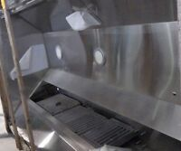 ****BRAND NEW 4X8 STAINLESS COMMERCIAL KITCHEN EXHAUST HOOD****
