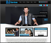DJ - Disc Jockey Website - We will Create For You