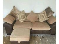 2 seater and 3 seater sofa! From DFS