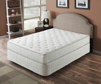 NEW Queen and King Size Pocket Coil Mattresses in a Box!