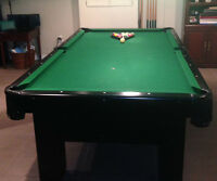 TABBLE DE BILLARD / POOL TABLE
