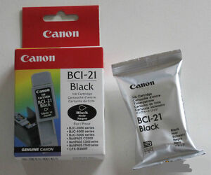 Cartouche d'encre CANON BC-21 Ink cartrige brand new