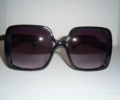 Jackie O Vintage 60's Glamorous Fashion Retro Sunglasses - BLACK