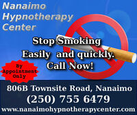 Stop Smoking without withdrawals Nananimo, Parksville, Comox