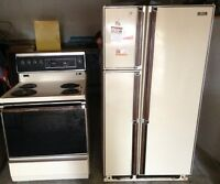 Fridge and stove priced for quick sale!