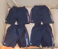 4 Pairs of Boys Lacoste Shorts Size 10