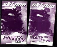 1999 SKI DOO OPERATORS GUIDE MANUAL