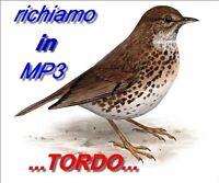 Richiamo Per Uccelli... Richiami In Mp3....speciale Tordo -  - ebay.it