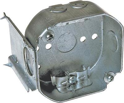 New Lot 6 Raco 160 Metal 4 Octagon With Bracket Electrical Boxes 6293831
