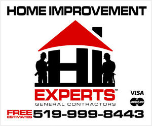 CALL HI EXPERTS FOR ADDITIONS, BATHROOMS, RENOS (WINDSOR/ESSEX)