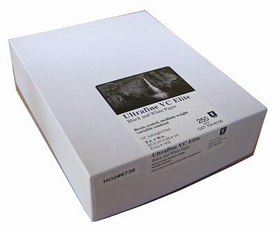 Ultrafine VC ELITE Pearl Variable Contrast RC Paper 8 x 10 / 250 Sheets