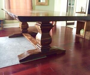 Reclaimed rustic, custom furniture, tables benches. Doors Cambridge Kitchener Area image 3