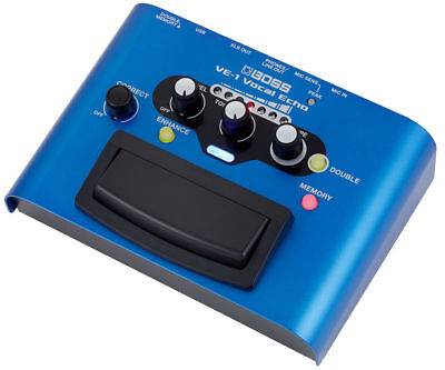 BOSS VE-1 Vocal Echo Vocal BRAND NEW Effects Pedal