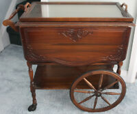 Gibbard Walnut Tea Trolley