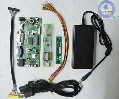 M.NT68676.2A(HDMI+DVI+VGA+Audio) LCD Controller Board DIY Kit + Power Adapter