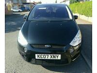Ford S Max Balack Titanium 7 seats withservice history.