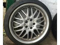 """17"""" dotz alloy wheels 5x100"""