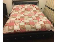 DOUBLE DIAMANTÉ BED