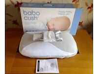 Babocush relieves babies from wind, colic and reflux.