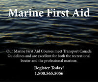 Marine First Aid Courses in Yarmouth