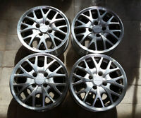 """Set of 16"""" alloy rims for Acura or Honda 4x114"""