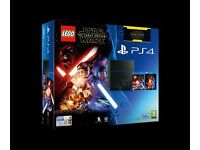 Lego Star Wars + Force Awakens Blu-ray PS4 500GB Console BNIB ONO Warranty