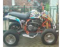 Dr 650 quad swap