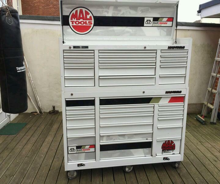 Mac tools limited edition rollcab and topbox in for Mac due the box