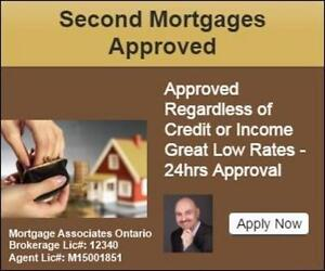 Second Mortgage in Barrie - No Income/Credit Required