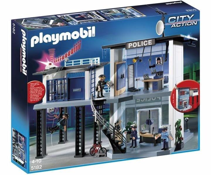 Brand New Playmobil Police Station 5182