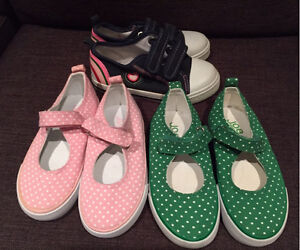 Toddler size 9&10 sneakers