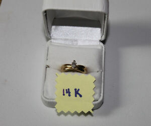 14K gold solitaire engagement ring marquise cut with appraisal Kingston Kingston Area image 10