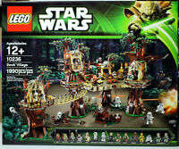 NEW LEGO STAR WARS SET 10236 - EWOK VILLAGE - 1990 PIECES - MISB