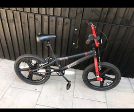 Spike skull-x bmx bike