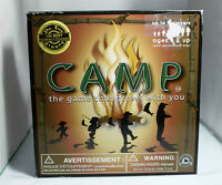 """CAMP boardgame that grows with you"""" 2-8 players children, adults"""