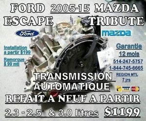 TRANSMISSIONS FORD ESCAPE & MAZDA TRIBUTE    2005-2015 2X4-4X4