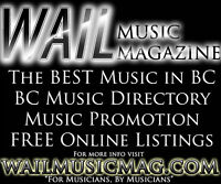 This is your chance to be in THOUSANDS of music magazines!
