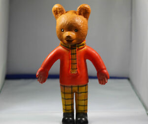 Vintage Rupert The Bear TV collectable plastic 1960-70s bear Kingston Kingston Area image 6