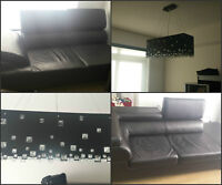 TWO couches PLUS chandelier, as a bundle or separate