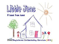OFSTED Registered childminder, SPACES AVAILABLE for a September start