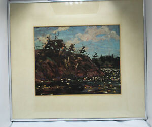 "Tom Thomson Print ""The Lily Pond""  Group Of 7 Artist Kingston Kingston Area image 3"