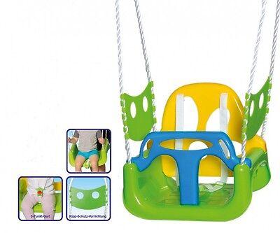 3-in-1 Babyschaukel Kinderschaukel Schaukelsitz Baby Gartenschaukel Schaukel