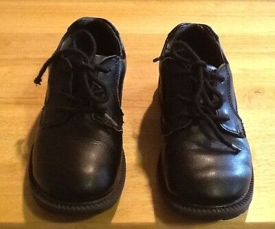 One Pair Boys Stride Rite Taft Oxford Black Shoes Sz 11.5M Little Kid Used (Little Kid Couple)