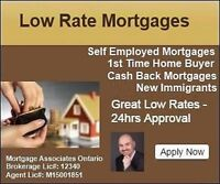 Mortgage for Self Employed, 1st time buyer, BadCredit & Refiance