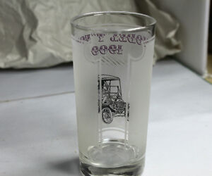 """Model T Ford 1909 & 1910"" Bar Drinking glasses Vintage Kingston Kingston Area image 5"