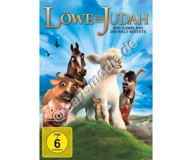 DVD: LÖWE VON JUDAH - Das Lamm, das die Welt rettete - FSK 6 - 2013 *NEU*