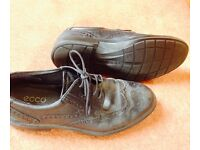 Shoes, Ecco, leather, size 43